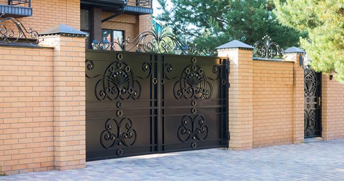 انواع درب های فرفورژه فلزی